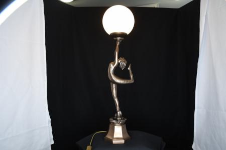Lady Lamp and Shade