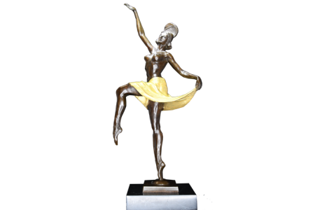 Bronze/Marble Dancer