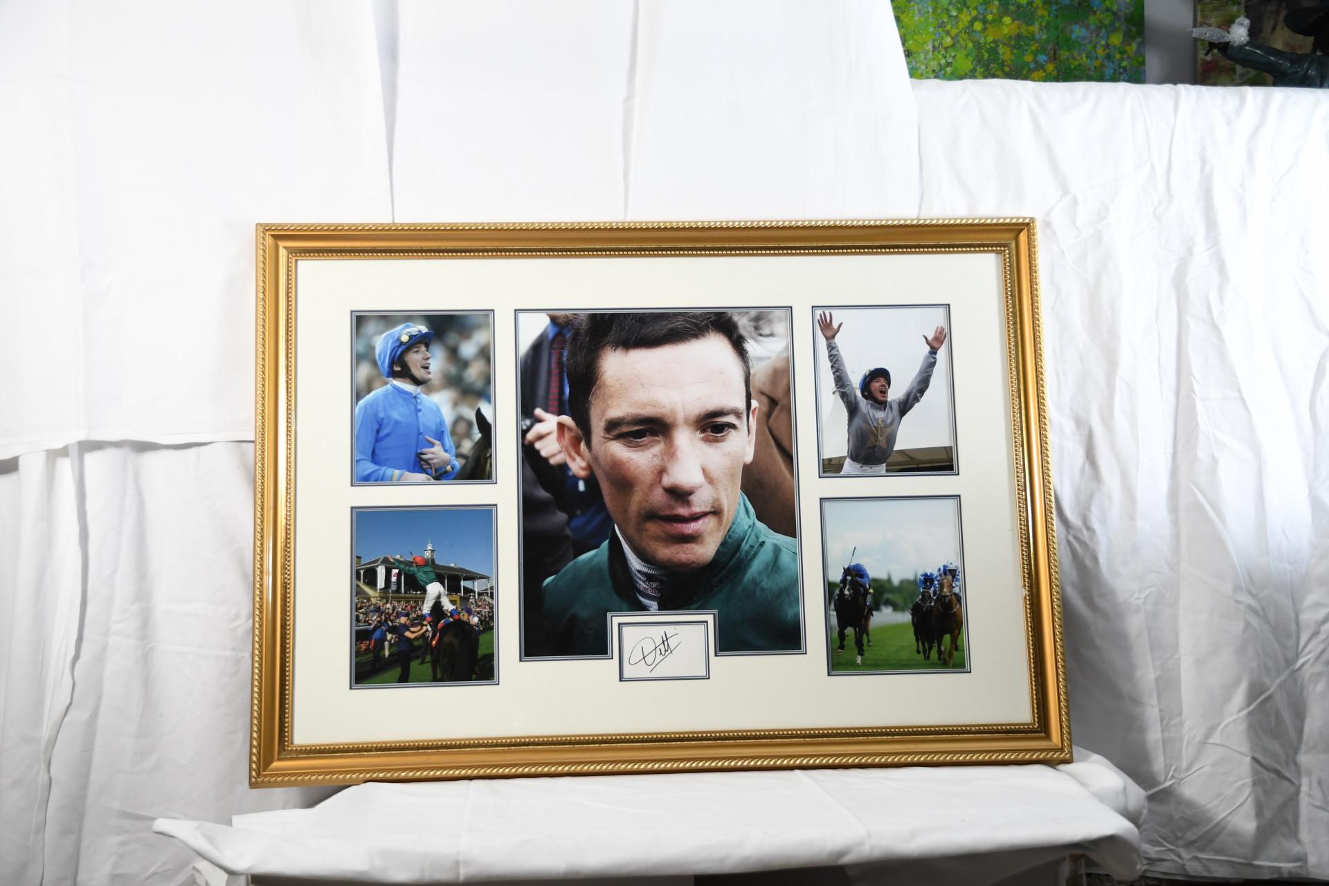Framed Signed Frankie Dettori Montage