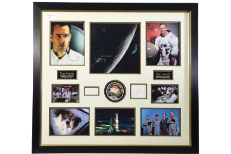 Tom Hanks and Jim Lovell Memorabilia