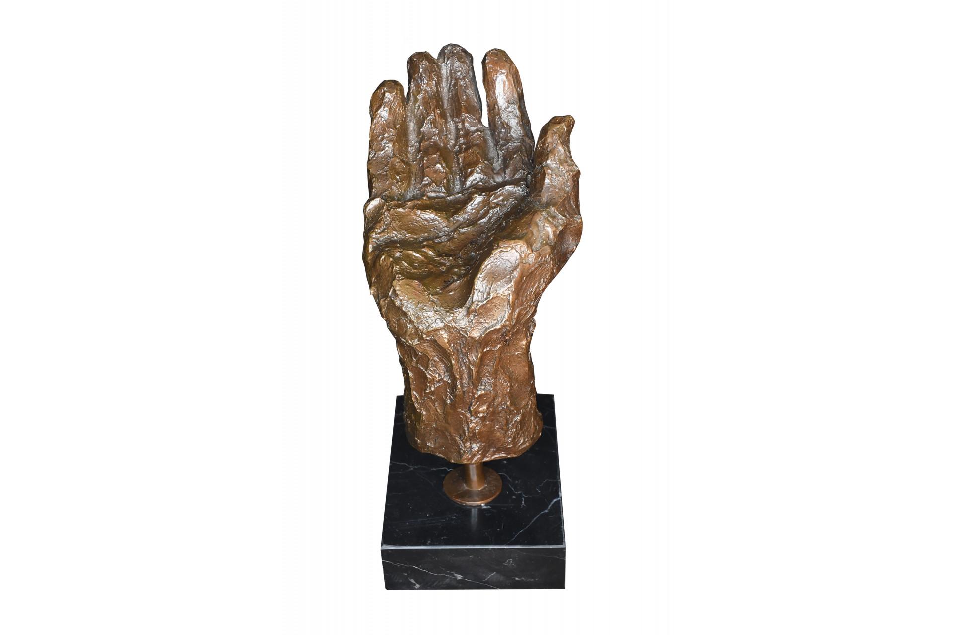 Bronze Hand Sculpture
