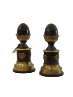 Heavy Brass Acorn Ornaments