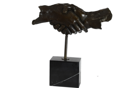Bronze Friendship Sculpture