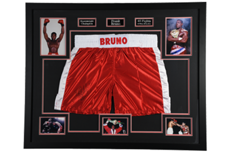 Frank Bruno Signed Shorts