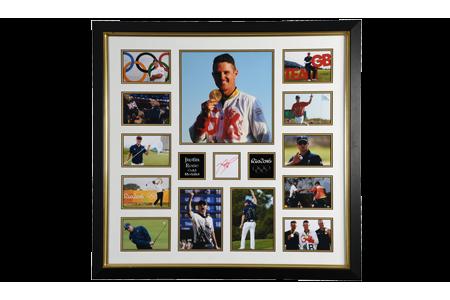 Justin Rose Framed Memorabilia