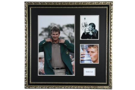 Sandy Lyle Framed Signature