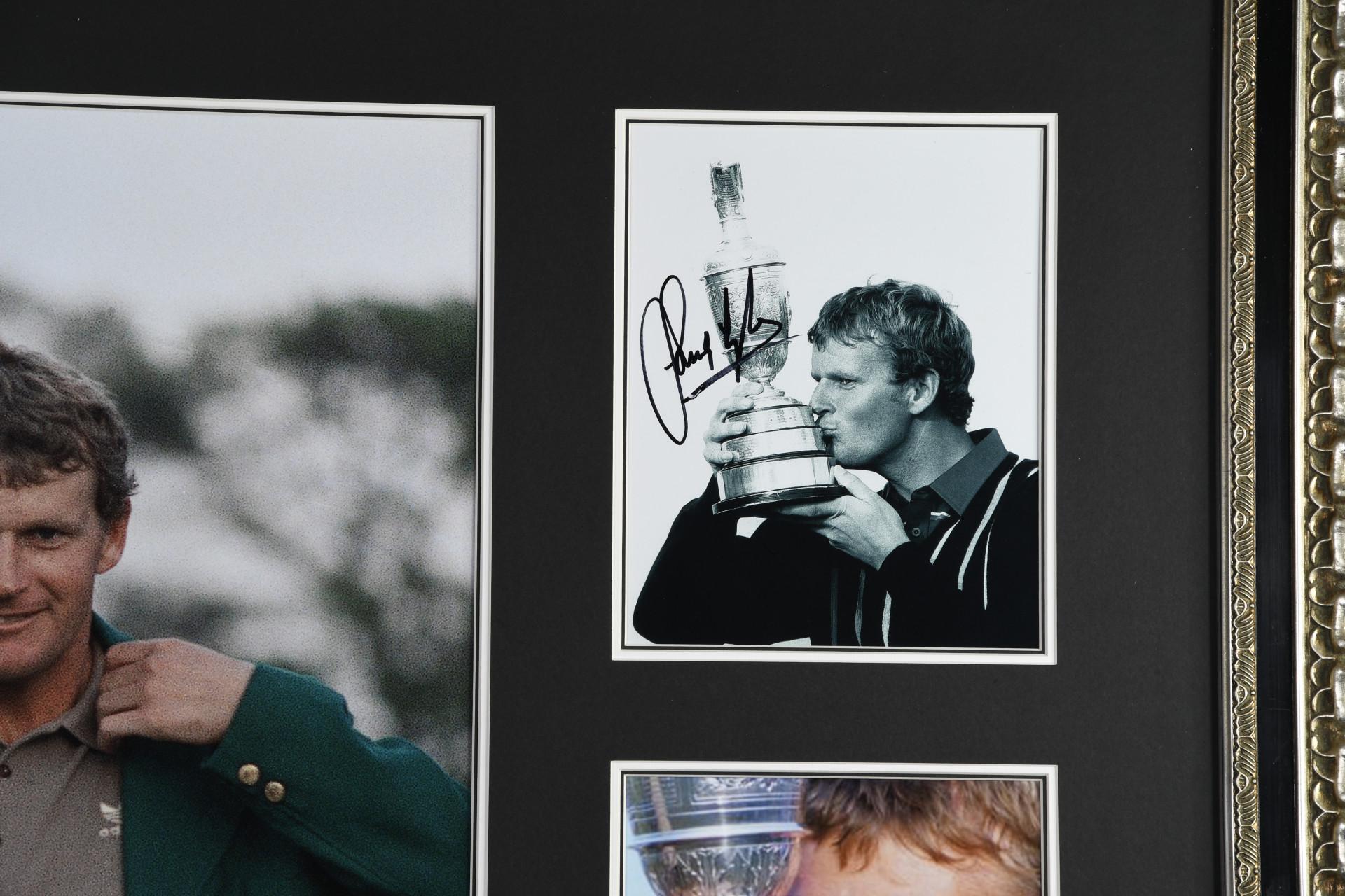 Sandy Lyle Framed Signature