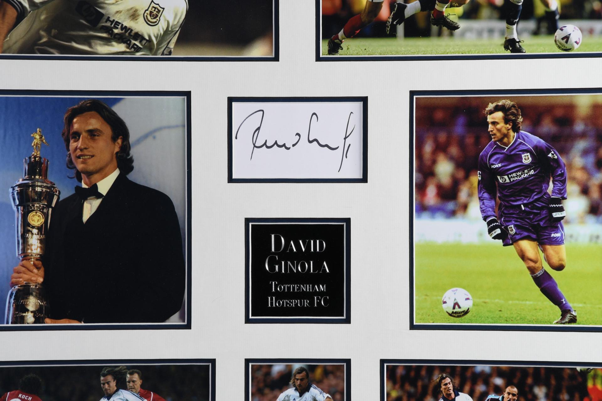 David Ginola Memorabilia