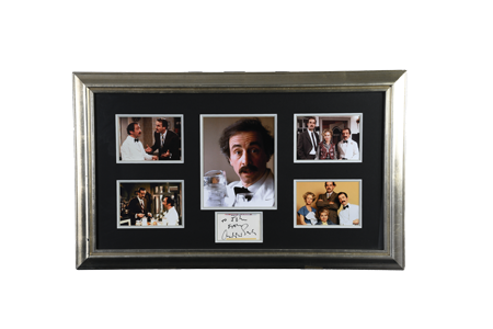 Andrew Sachs Framed Signature