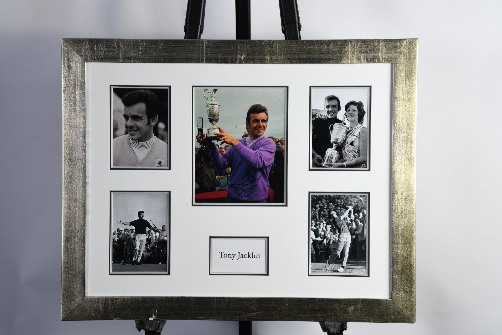 Tony Jacklin Framed Signed Photograph