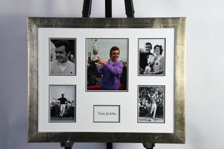 Tony Jacklin Framed Signed Photograph