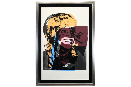 Signed Limited Edition Andy Warhol Slik Screen