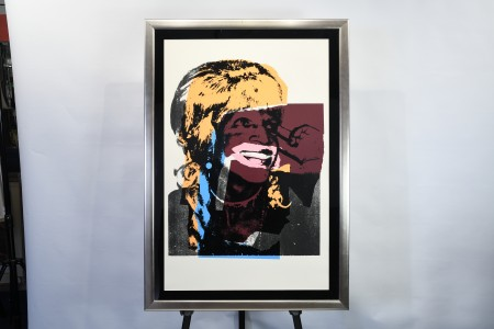Signed Limited Edition Andy Warhol Silk Screen