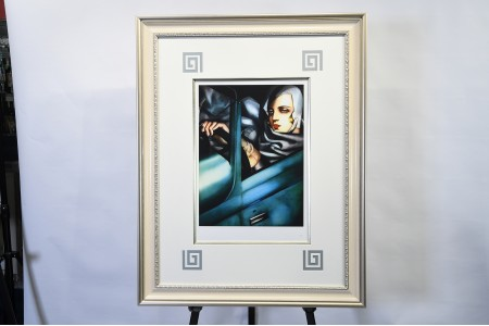 Limited edition by Tamara de Lempicka with authentication from her estate.