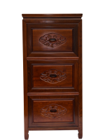 hand made Rosewood Filing Cabinet