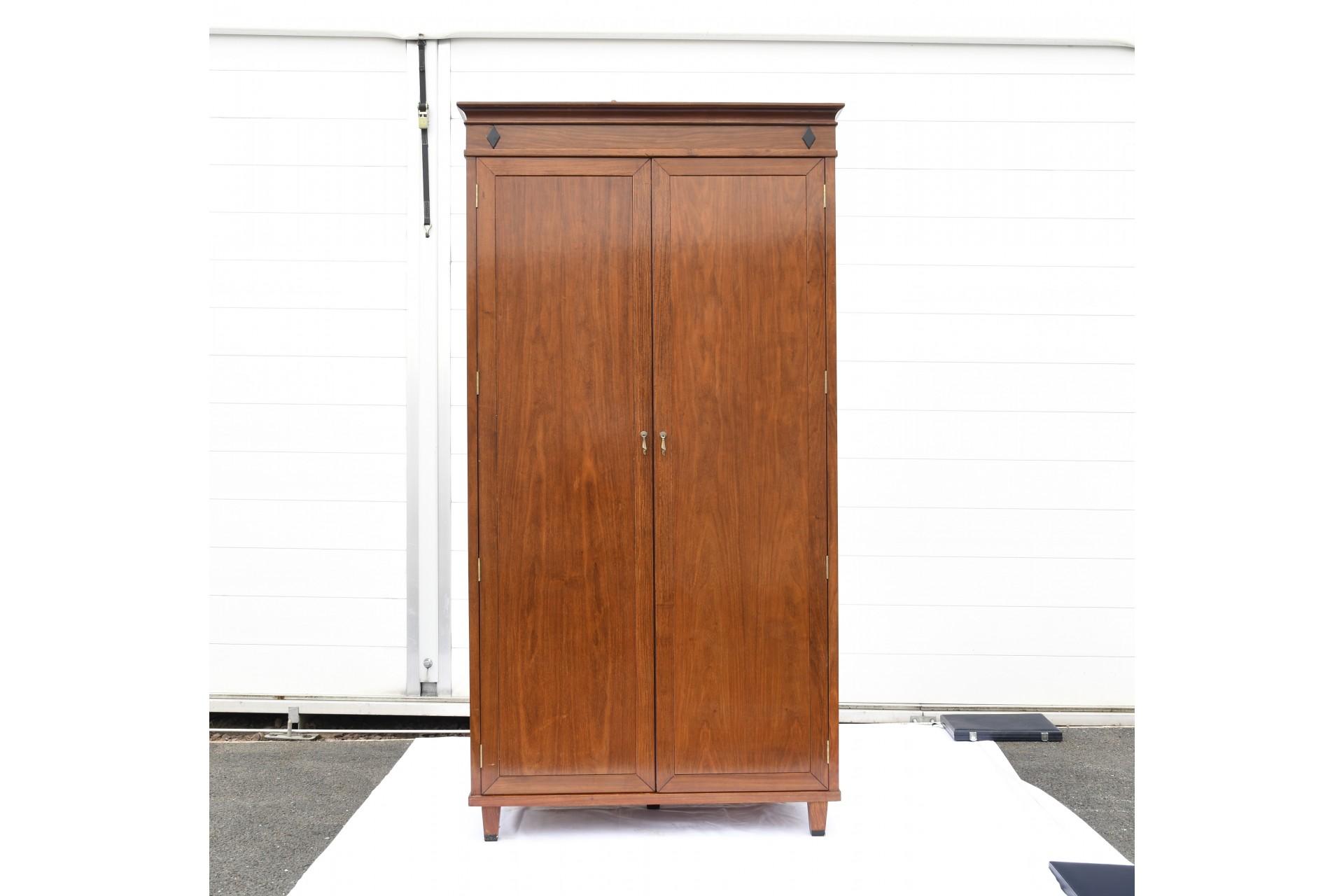 Hand Made Solid Wood Wardrobe