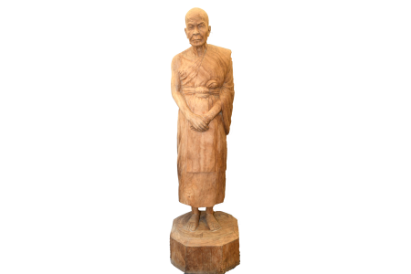 LIFE SIZE Teak Hand CARVING