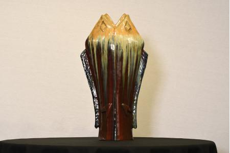 Hand Made Fish Vase