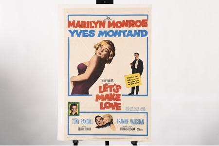 ORIGINAL MARILYN MONROE CINEMA POSTER