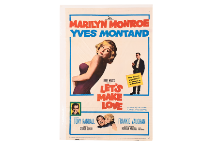 ORIGINAL MARILYN MONROE FILM POSTER