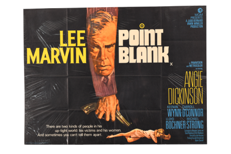 "VINTAGE FILM POSTER ""POINT BLANK"""