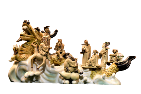 AMAZING ORIENTAL PORCELAIN SCULPTURE