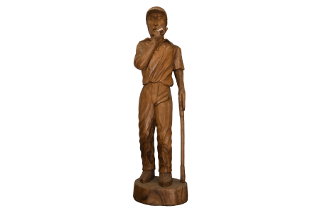 FULL SIZE WOODEN GOLFER
