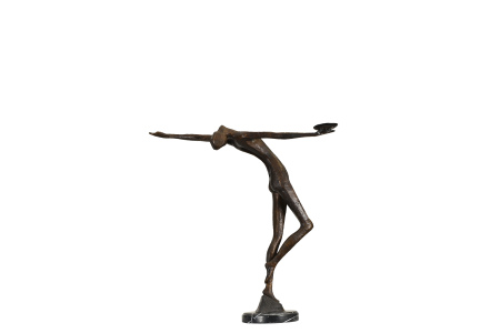 MODERN BRONZE SCULPTURE