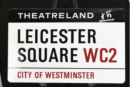 Rare Original London Street Sign