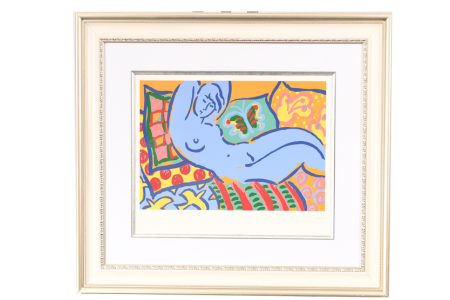 """LIMITED EDITION BY GERRY BAPTIST """"BLUE NUDE"""""""