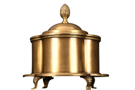 BRASS TRINKET BOX
