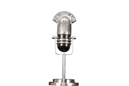 "METAL ""ON THE AIR"" MICROPHONE"