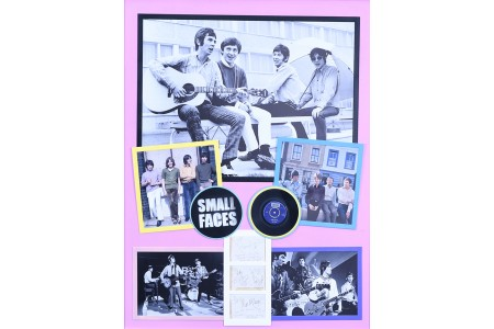 """SMALL FACES"" UNIQUE SIGNED MEMORABILIA"