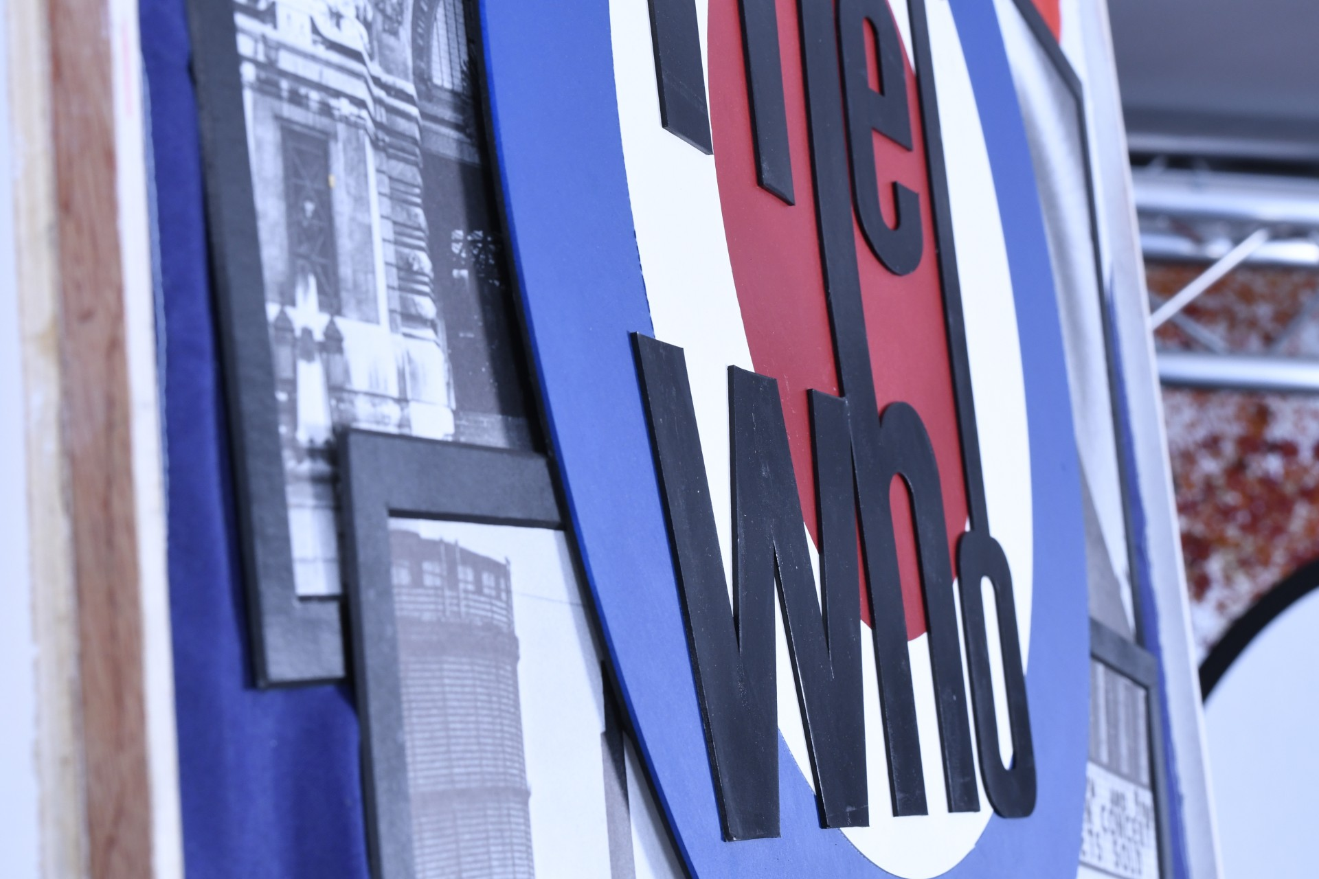 """""""THE WHO"""" UNIQUE MEMORABILIA"""
