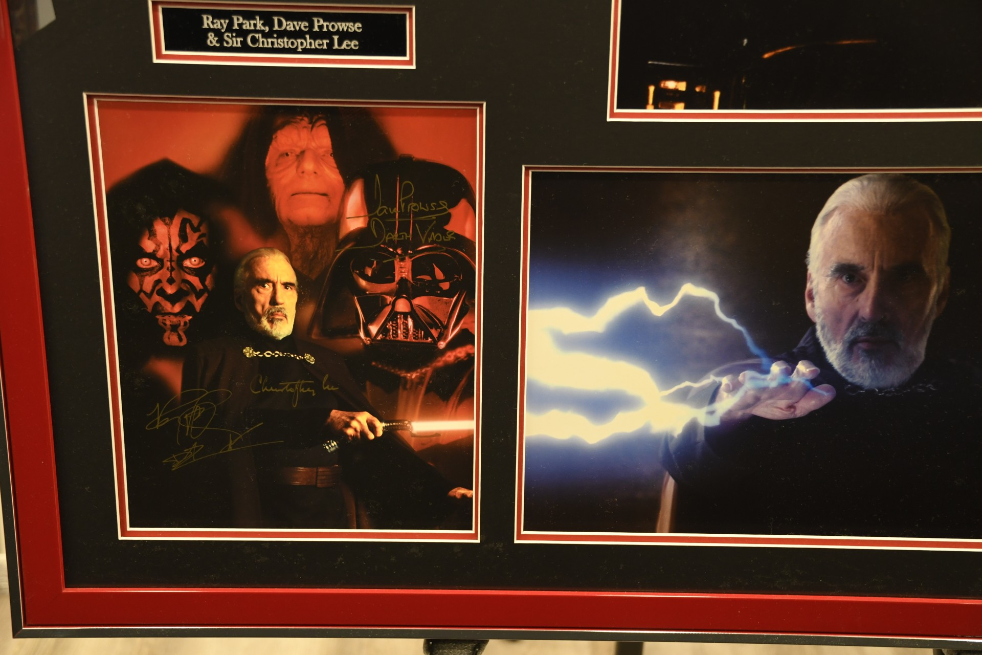 SIGNED STAR WARS PHOTOGRAPH