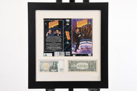 Signed Jimmy Stewart Memorabilia