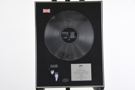 OMD FRAMED RECORD AWARD
