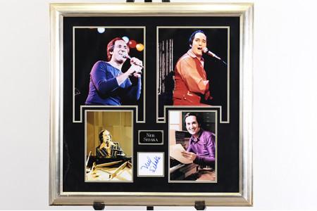 Neil Sedaka Framed Autograph