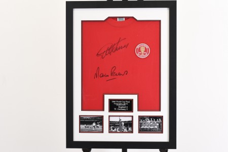 1966 World Cup Signed England Shirt