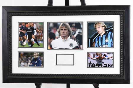 Jurgen Klinsmann Framed Memorabilia