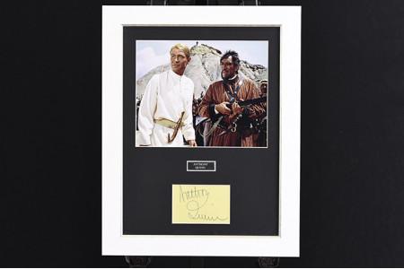 Anthony Quinn Framed Autograph