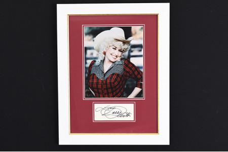 Dolly Parton Original Signature