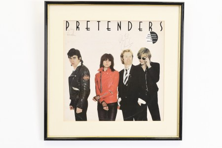Signed Album by The Pretenders