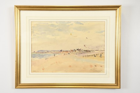 Original Petley Jones Watercolour 1966