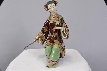 Shiwan Porcelain Art Lady