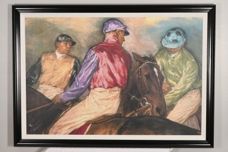 Large Limited Edition on Canvas by superb Equestrian Artist Jay Boyd Kirkman