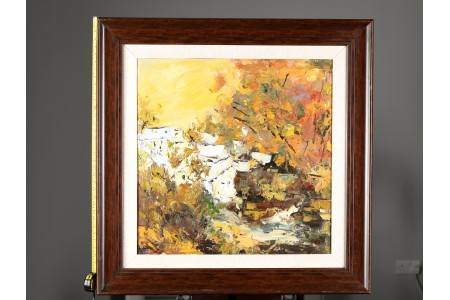 Signed Original Impressionist Oil on Canvas