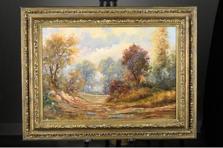 Original Oil on Canvas by Italian Artist De Simoni