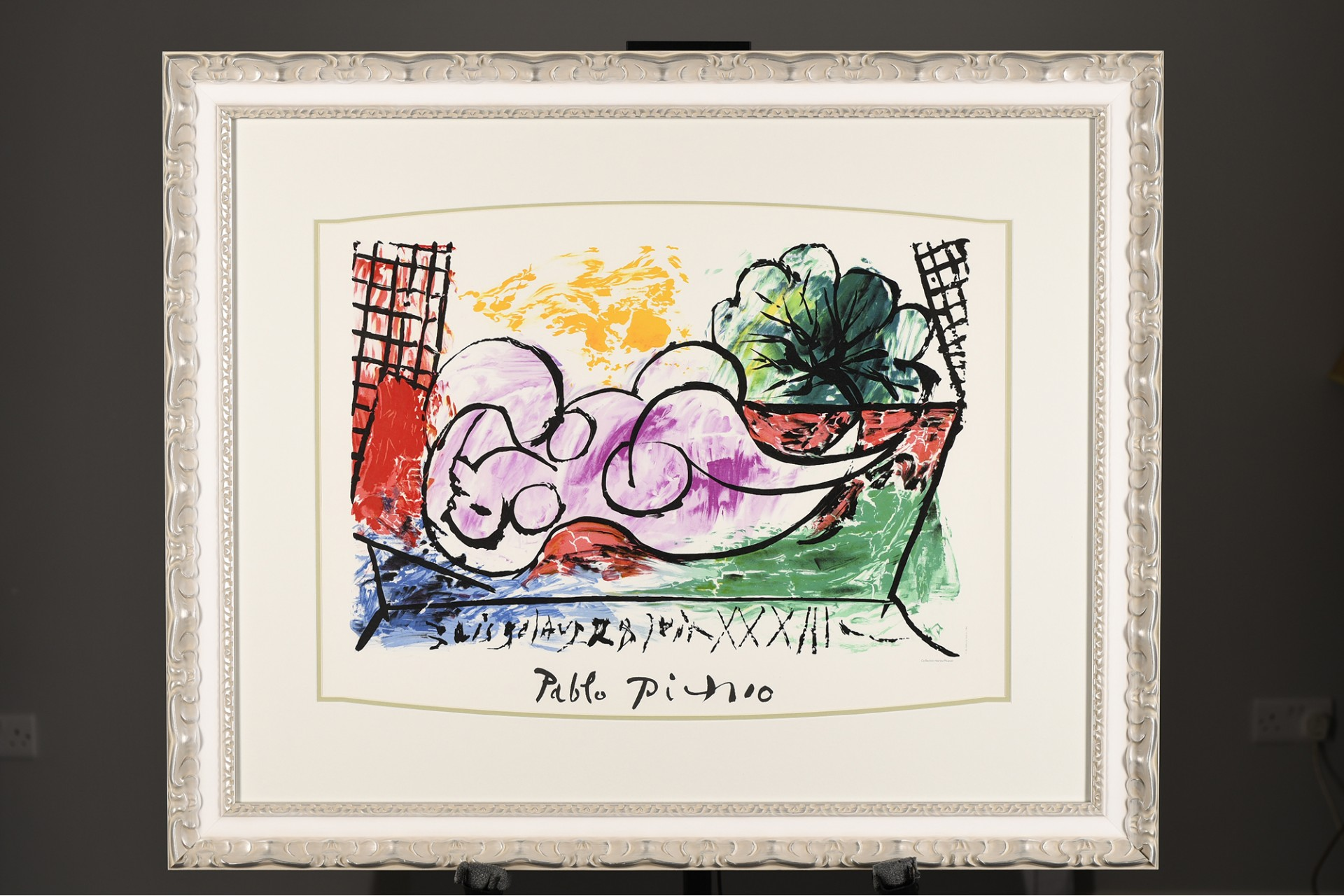 """Limited Edition Pablo Picasso. From the Marina Picasso Collection. """"Femmes Endormie"""""""