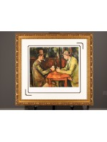"""Limited Edition """"The Card Players"""" by Paul Cezanne"""